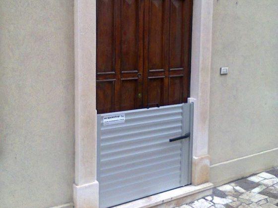 Hochwasserschutz für Holztüren