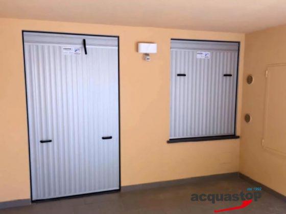 Hochwasserschutz für Kellertüren und Kellerfenster