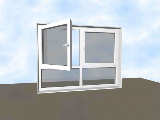 Hochwasserschutzfenster
