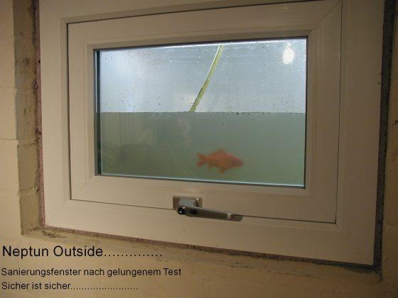 Wasserdichte Fenster