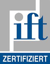 IFT zertifiziert